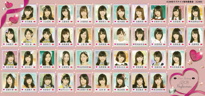 AKB48グループメンバー40名 ほか