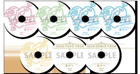 DVD スペシャルBOX/11枚、Blu-ray スペシャルBOX/7枚