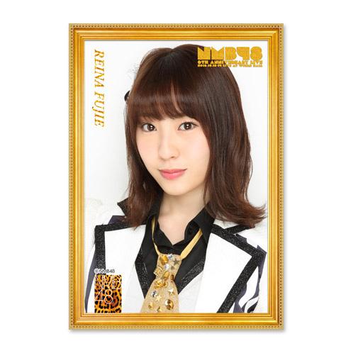 NMB48 6th Anniversary LIVE 劇場壁写風推しタオル 藤江れいな