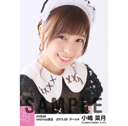 AKB48 2015年9月度 net shop限定個別生写真5枚セット 小嶋菜月