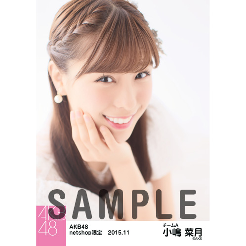 AKB48 2015年11月度 net shop限定個別生写真5枚セット 小嶋菜月