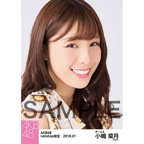 AKB48 2016年1月度 net shop限定個別生写真5枚セット 小嶋菜月