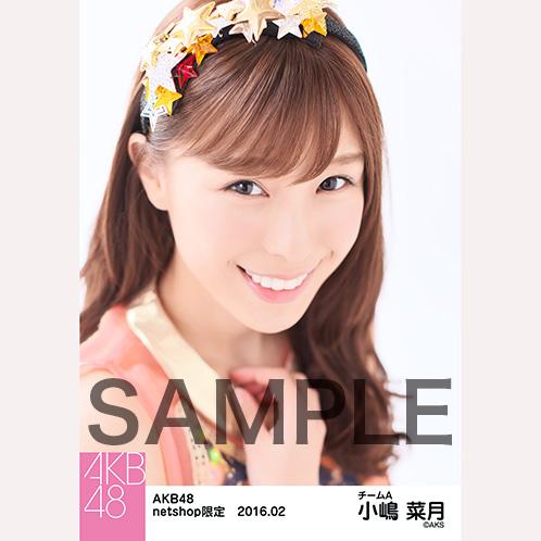 AKB48 2016年2月度 net shop限定個別生写真「恋チュン衣装」5枚セット 小嶋菜月