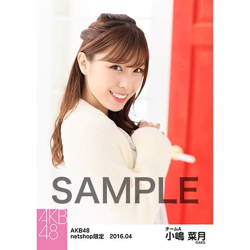AKB48 2016年4月度 net shop限定個別生写真 「ルームウェア」5枚セット 小嶋菜月
