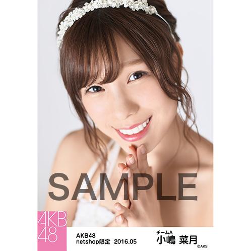 AKB48 2016年5月度 net shop限定個別生写真 「君にウェディングドレスを... 衣装」5枚セット 小嶋菜月