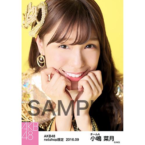 AKB48 2016年9月度 net shop限定個別生写真 「ヘビーローテーション」衣装 5枚セット 小嶋菜月