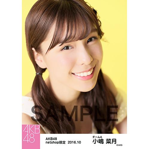 AKB48 2016年10月度 net shop限定個別生写真 「ギンガムチェック」衣装 5枚セット 小嶋菜月