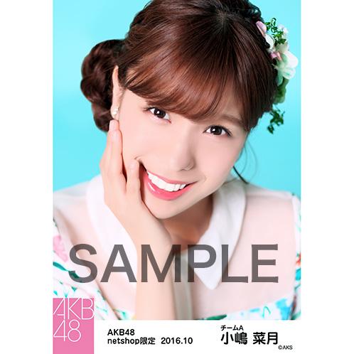 AKB48 2016年10月度 net shop限定個別生写真 「ボタニカル」 衣装5枚セット 小嶋菜月