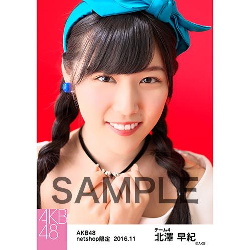 AKB48 2016年11月度 net shop限定個別生写真 「レトロワンピ」5枚セット 北澤早紀