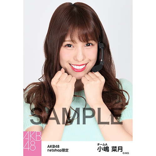 AKB48グループ 第7回じゃんけん大会2016 net shop限定個別生写真5枚セット 小嶋菜月