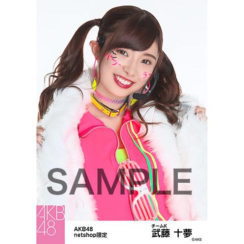 AKB48グループ 第7回じゃんけん大会2016 net shop限定個別生写真5枚セット 武藤十夢