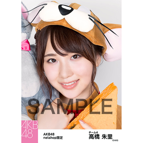 AKB48グループ 第7回じゃんけん大会2016 net shop限定個別生写真5枚セット 高橋朱里