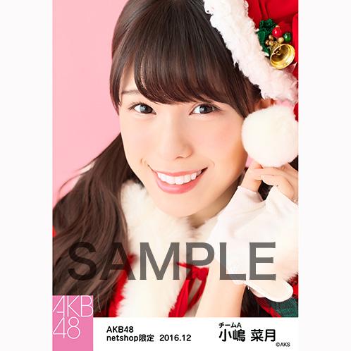 AKB48 2016年12月度 net shop限定個別生写真 「予約したクリスマス」衣装5枚セット 小嶋菜月