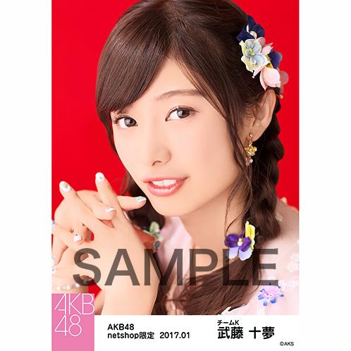 AKB48 2017年1月度 net shop限定個別生写真 「2016横浜スタジアム 愛の存在」衣装5枚セット 武藤十夢