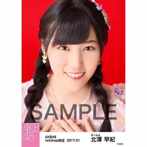 AKB48 2017年1月度 net shop限定個別生写真 「2016横浜スタジアム 愛の存在」衣装5枚セット 北澤早紀