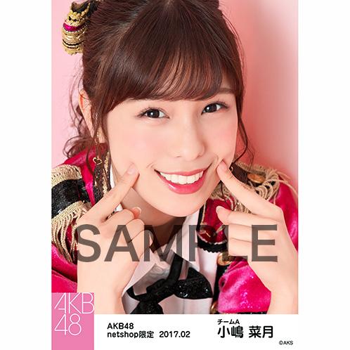 AKB48 2017年2月度 net shop限定個別生写真 「ピンク鼓笛隊」衣装5枚セット 小嶋菜月