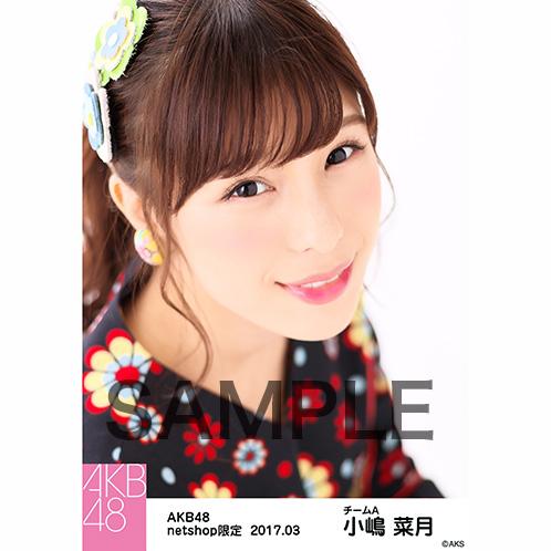 AKB48 2017年3月度 net shop限定個別生写真 「翼はいらない 花柄」衣装II5枚セット 小嶋菜月