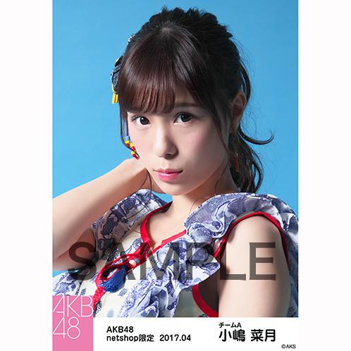 AKB48 2017年4月度 net shop限定個別生写真 「翼はいらない エスニック柄」衣装5枚セット 小嶋菜月