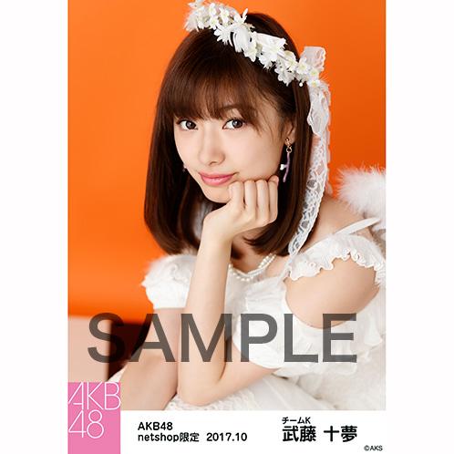 AKB48 2017年10月度 net shop限定個別生写真「特別ハロウィン」衣装5枚セット 武藤十夢