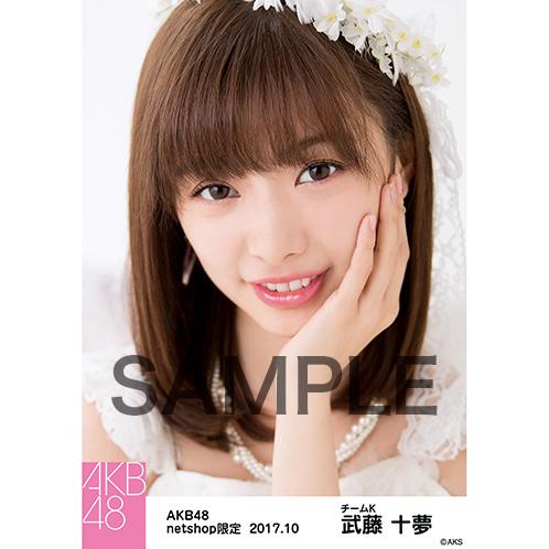 AKB48 2017年10月度 net shop限定個別生写真「特別ハロウィン」衣装II5枚セット 武藤十夢