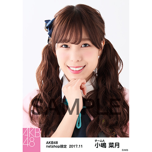 AKB48 2017年11月度 net shop限定個別生写真「イヴはアダムの肋骨 公演オープニング」衣装5枚セット 小嶋菜月