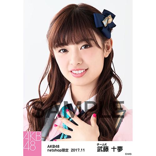 AKB48 2017年11月度 net shop限定個別生写真「イヴはアダムの肋骨 公演オープニング」衣装5枚セット 武藤十夢