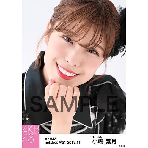 AKB48 2017年11月度 net shop限定個別生写真「ド~なる?!ド~する?!AKB48 公演オープニング」衣装5枚セット 小嶋菜月