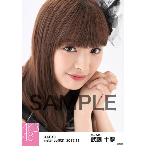 AKB48 2017年11月度 net shop限定個別生写真「ド~なる?!ド~する?!AKB48 公演オープニング」衣装5枚セット 武藤十夢