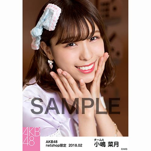 AKB48 2018年2月度 net shop限定個別生写真「パステルエプロン」衣装5枚セット 小嶋菜月