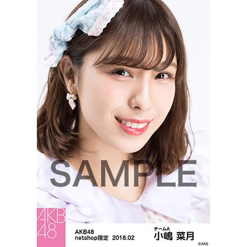 AKB48 2018年2月度 net shop限定個別生写真「パステルエプロン」衣装II5枚セット 小嶋菜月
