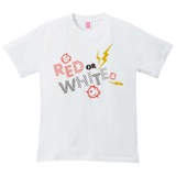 AKB48 RED or WHITE 2014 Tシャツ ホワイト