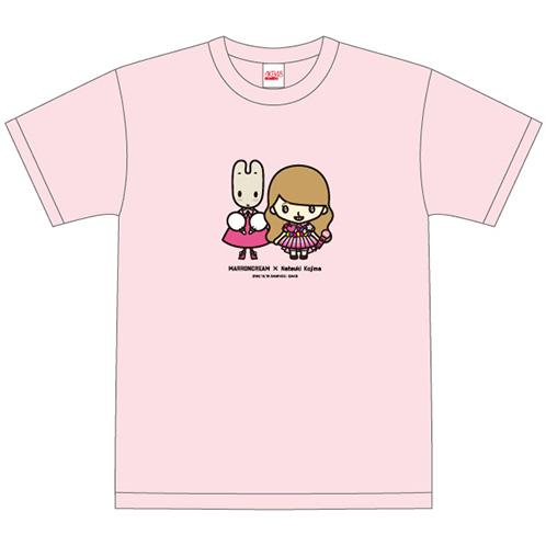 AKB48 ちゃんりおTシャツ 小嶋菜月