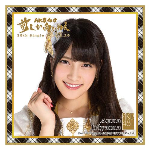 AKB48 前しか向かねえ推しタオル 入山 杏奈