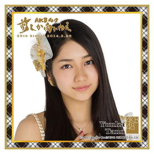 AKB48 前しか向かねえ推しタオル 田野 優花