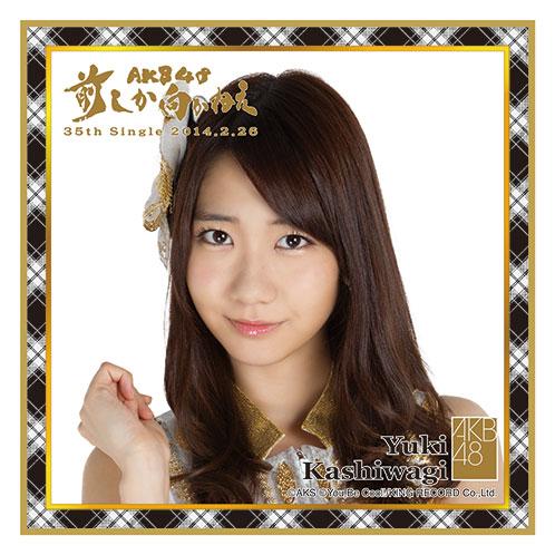 AKB48 前しか向かねえ推しタオル 柏木 由紀