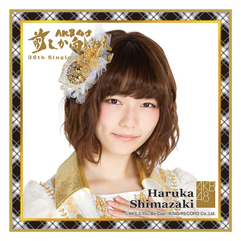 AKB48 前しか向かねえ推しタオル 島崎遥香
