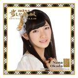AKB48 前しか向かねえ推しタオル 岡田奈々