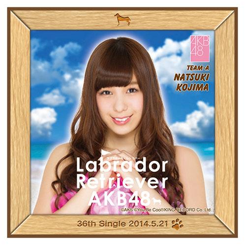 AKB48 ラブラドール・レトリバー推しタオル 小嶋 菜月