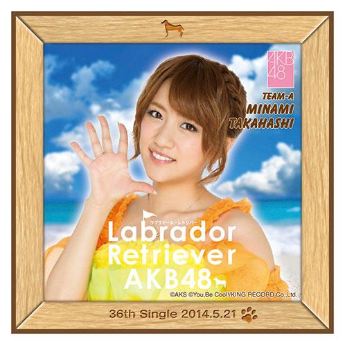 AKB48 ラブラドール・レトリバー推しタオル 高橋 みなみ