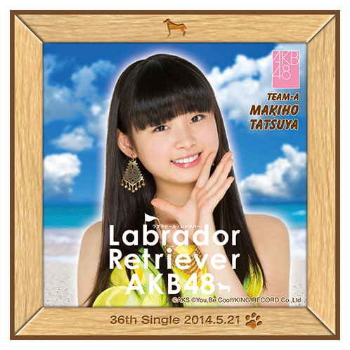 AKB48 ラブラドール・レトリバー推しタオル 達家 真姫宝