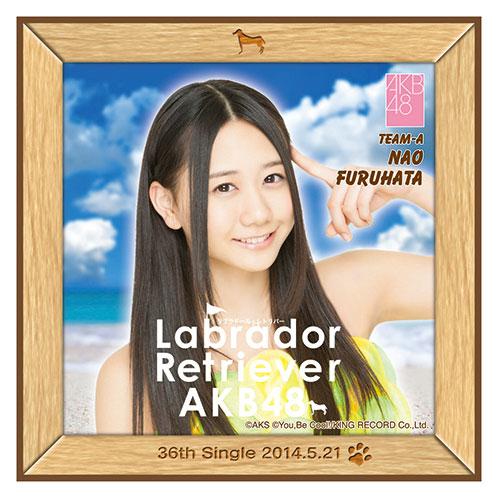 AKB48 ラブラドール・レトリバー推しタオル 古畑 奈和