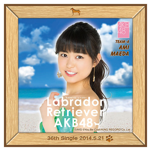 AKB48 ラブラドール・レトリバー推しタオル 前田 亜美