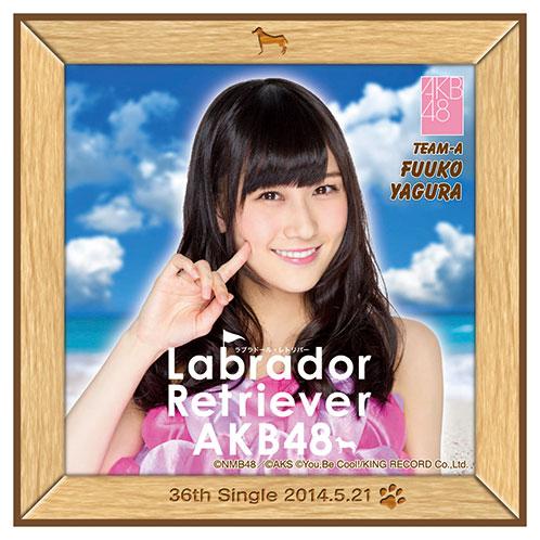 AKB48 ラブラドール・レトリバー推しタオル 矢倉 楓子