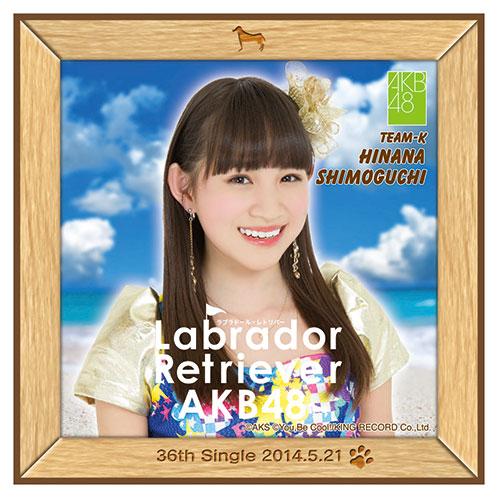 AKB48 ラブラドール・レトリバー推しタオル 下口 ひなな