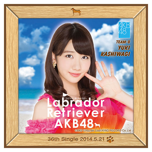 AKB48 ラブラドール・レトリバー推しタオル 柏木 由紀