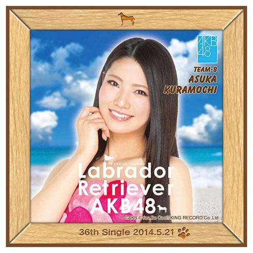 AKB48 ラブラドール・レトリバー推しタオル 倉持 明日香