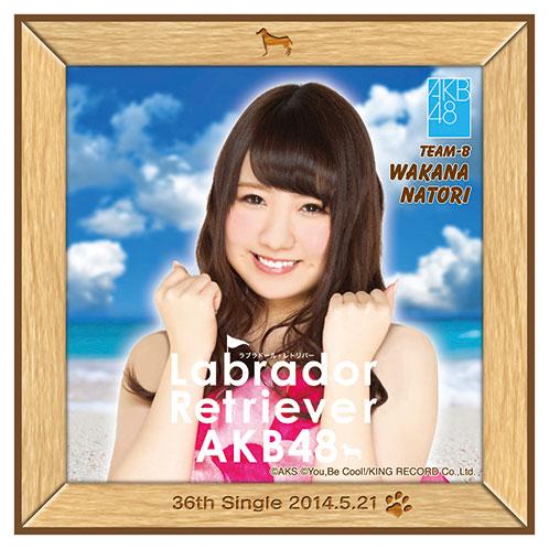 AKB48 ラブラドール・レトリバー推しタオル 名取 稚菜