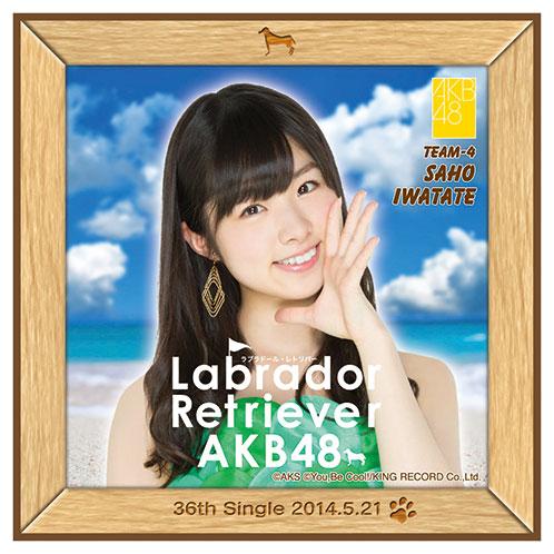 AKB48 ラブラドール・レトリバー推しタオル 岩立 沙穂