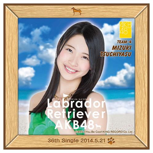 AKB48 ラブラドール・レトリバー推しタオル 土保 瑞希