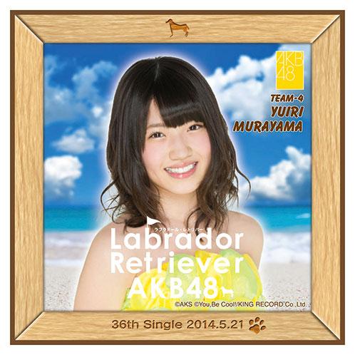 AKB48 ラブラドール・レトリバー推しタオル 村山 彩希